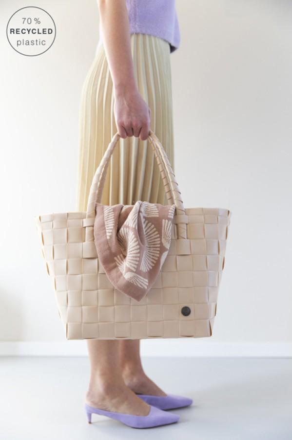 "Grocery bag ""Paris"" sahara sand"