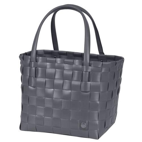 "Grocery bag ""Colour block"" dark grey"